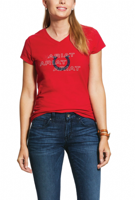 Ariat Puff Print Ladies T-Shirt